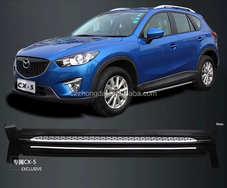 Mazda CX-5 side step /running board,foot plate auto tuning parts for 2013 MAZDA CX-5