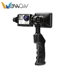 China wholesale biggest factory portable professional camera go pro gimbal motor stabilizer for video taking