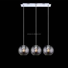 Alibaba website Italian designer clear glass modern pendant light made in China