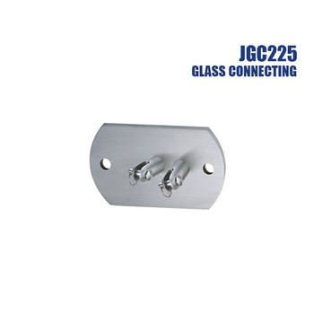 glass to glass connector for canopy fittings awning accessories