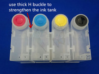 New products 2016 ! 500ml 4 colors universal ink tank for CISS