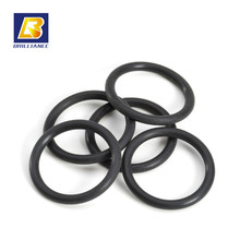 Elastic Rubber O-rings Suppliers and Manufacturers Conductive Silicone Rubber 10*10mm Black Rubber O-Rings
