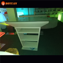 New design cheap price party led bar counter straight
