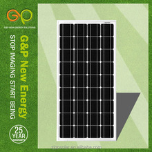 GP 100W mono kyocera solar panels for kit solar panel system