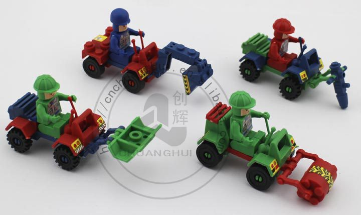 Intelligence Toy Building Block Engineering truck
