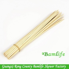 high quality dan bamboo small food steak stick