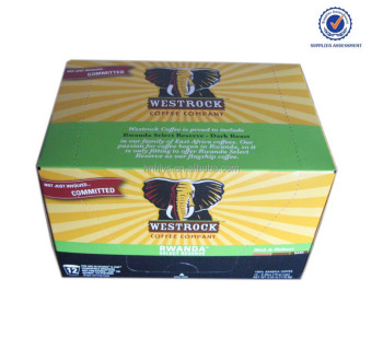 Plastic 12 Counts K-Cup Coffee Box