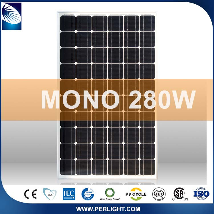 1000V Flexible Wholesale Quality-Assured Chinese 280Watts Solar Panel Price