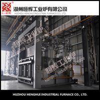Room type industrial gas heating melting furnace