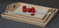 Lovely competitive Paulownia wooden tray, unfinished
