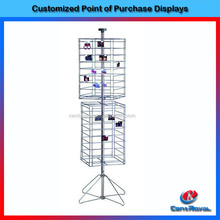 2017 New product metal earring display stand for shop