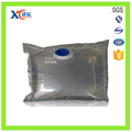 Liquid industrial bag in box water dispenser laminated plastic bag