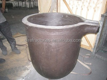 all kinds of type Sic crucible for melting brass used in induction furnace