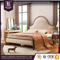 American new model bedroom furniture , high end bedroom furniture simple double bed