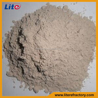 High Temperature High Adhesive Strength Refractory Fireproof Mortar for Different Refractory Brick