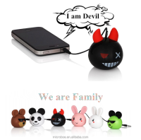 Creative Mini Portable Speaker With Devil Model