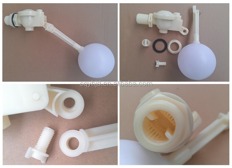 "1/4"" To 2"" Inch Plastic Float Ball Valve For Water Storage Tank"