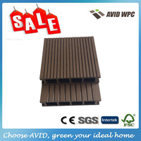 outdoor wood plastic synthetic decking WPC decking board