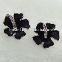 fashion flower earring jewelry