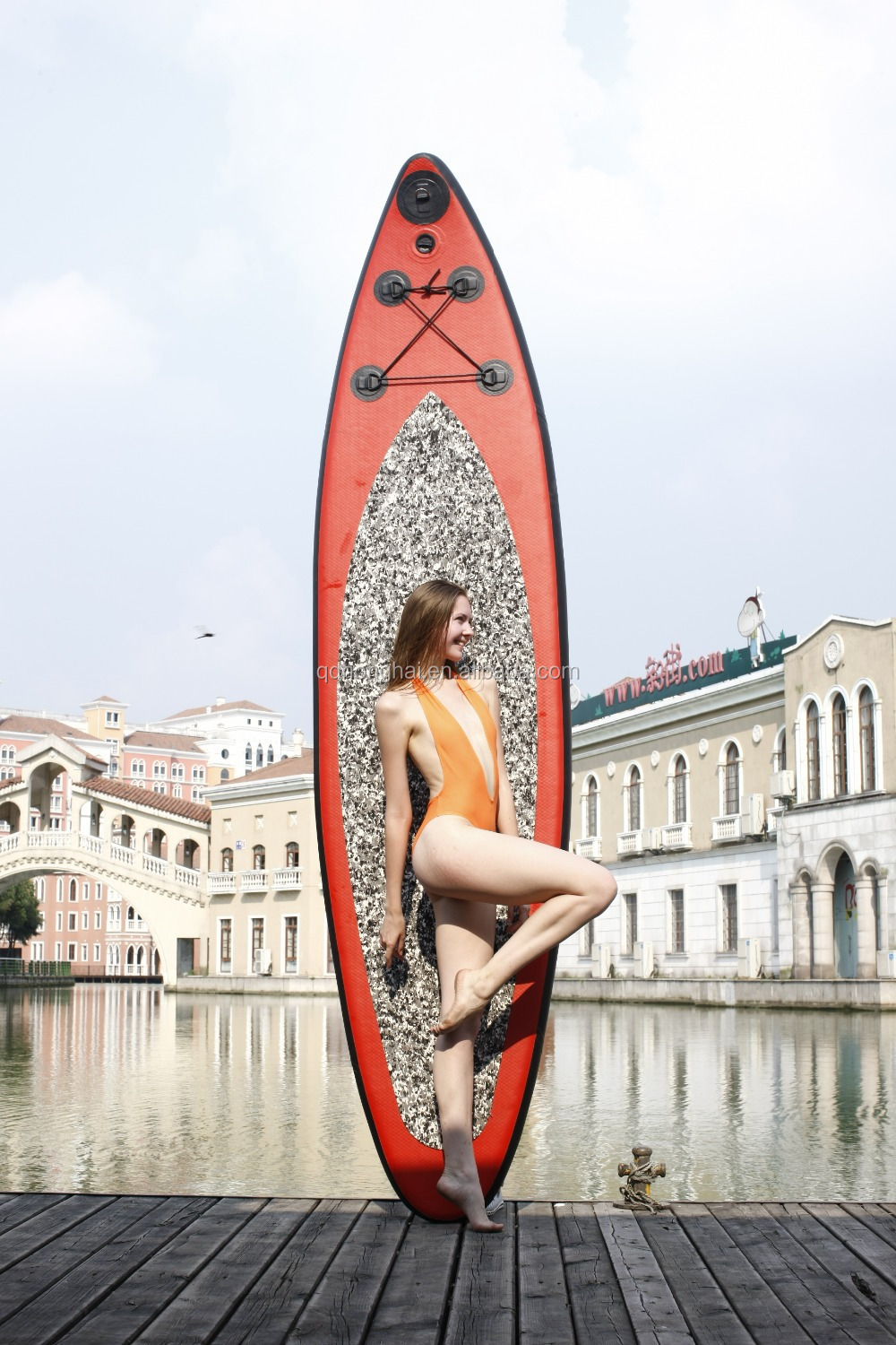 stand up sup cheap inflatable surf board with CE
