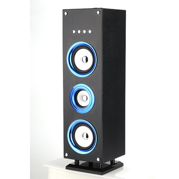 purple, black, red, blue, golden home karaoke bluetooth tower speakers support USB/TF card /Audio/FM/Bluetooth