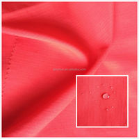 matt 100% nylon taslon rip-stop fabric waterproof fabric