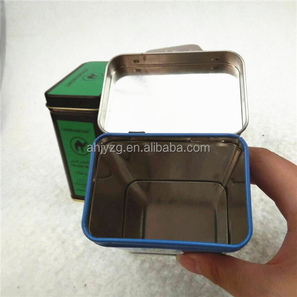 travel mini tin food container for storage
