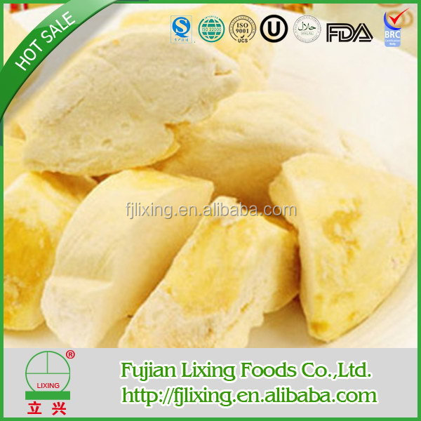 Quality classical persimmon freeze dried durian fruit