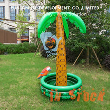in stock inflatable palm tree pool float