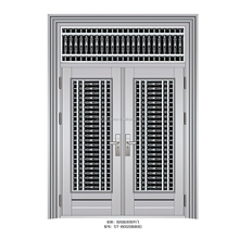 strong stainless indian steel main gate design