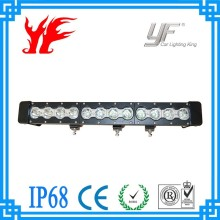 Factory supply 2015 new product ip68 waterproof 10w single row offroad lighting bar car lights led