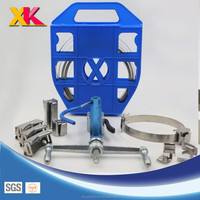 SS 304 ,SS201,SS316 0.7*16mm stainless steel strapping band Suspension Clamps Connectors Suspension clamp set pole clamp