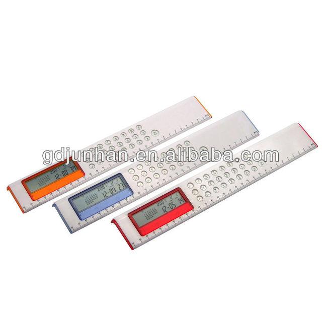 multi-functional 30cm Icd ruler calculator