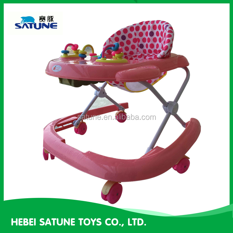 Wholesale Hot Seller China Rolling Swivel Wheels baby walker china, walker baby with good quality