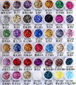 2015 Newest 300 colors different shape glitter powder for fashion nail decoration