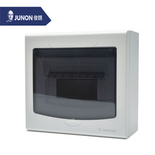 JUNON Unique Design Electrical Surface Mounted Distribution Box(Inside Or Outside,White+Gray 5-7 Ways)