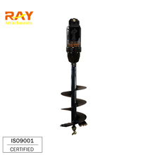 Hydraulic Soil Auger Earth Hole Drilling Machine Price For Sale
