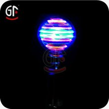 Led Flashing Spinning Ball