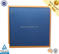 Office supply bule color felt board fabric pin board