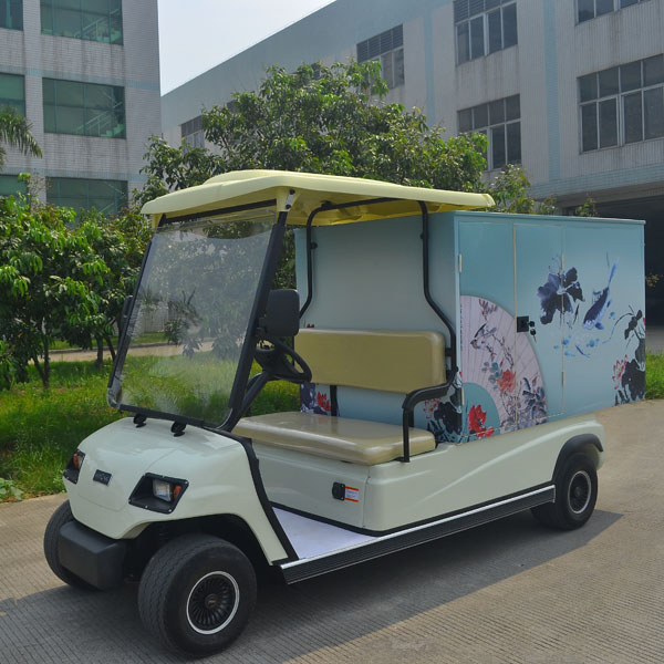 2 seats electric utility hotel vehicle