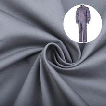 China Made High Technology 260gsm Cotton Grey Fabric