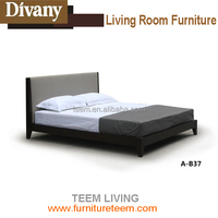 2015 Divany modern room furniture euro design bed A-B37