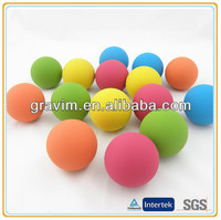 Colorful High Bouncing soft hollow rubber ball