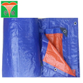 Factory price customizable size waterproof PE tarpaulin for tents