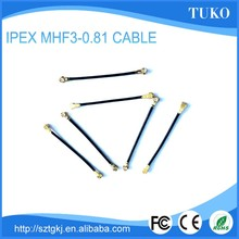 MHF3 IPEX CONNECTOR WITH 30MM LENGTH 0.81 video cable rf cable