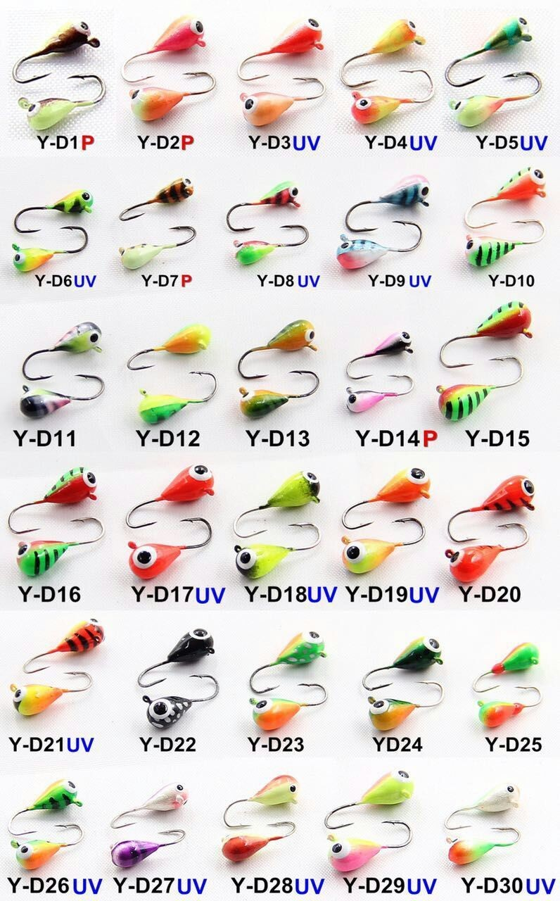 Tear drop wholesale tungsten ice fishing jigs buy for Ice fishing supplies wholesale