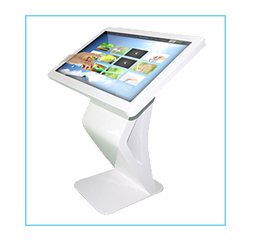 42 inch black competitive price indoor wall mounted kiosk with CPU for wholesale