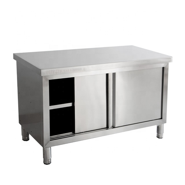 Commercial Kitchen Equipment China kitchen table stainless steel used stainless steel work table