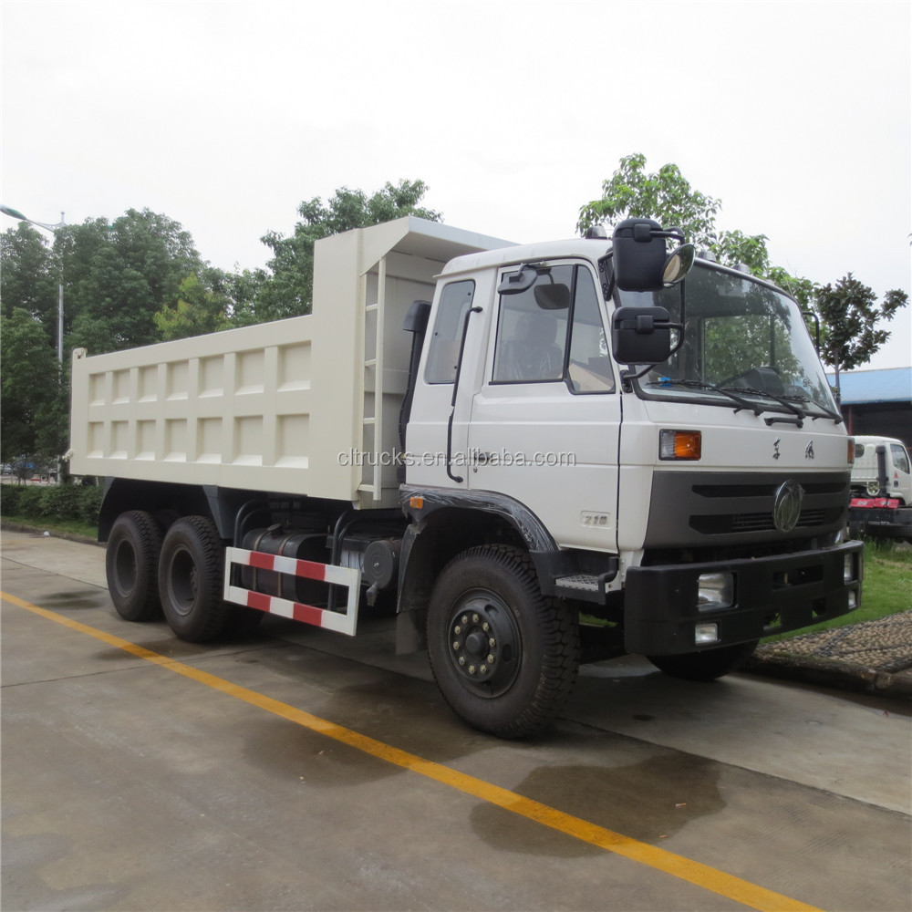 hot sell factory sale 10 wheel 25ton dongfeng dump truck sale