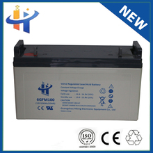 Home Solar Systems regeneration dry charged lead acid battery